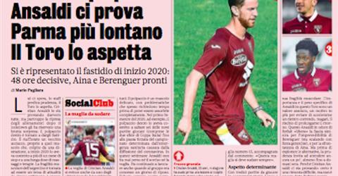 Gazzetta dello sport: Ancora il polpaccio, Ansaldi ci prova   Udinese Blog