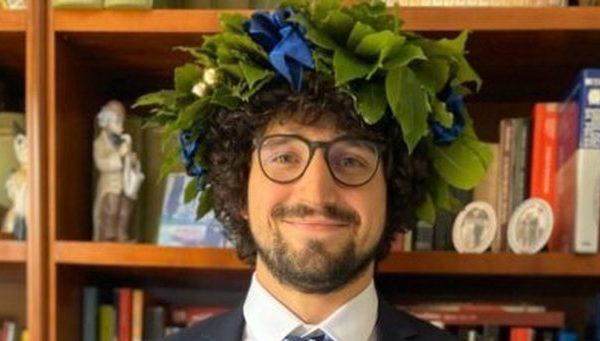 Guarducci, un capitano con l'alloro: è dottore di diritto dello sport