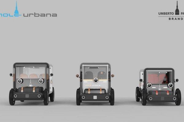 Mole Urbana, debutta il quadriciclo elettrico di Umberto Palermo