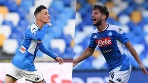 Napoli, super attacco: torna al gol anche Callejon