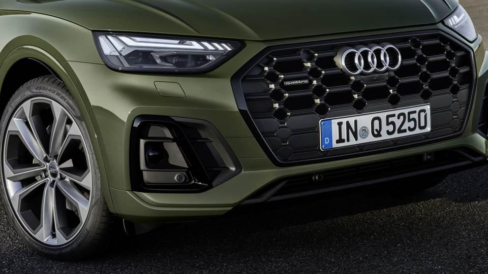 Nuova Audi Q5 2020: rinnovato il frontale