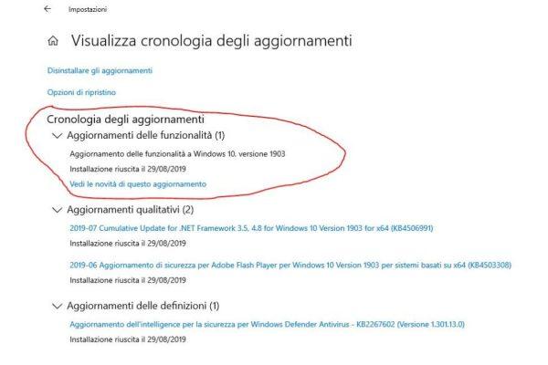 Windows 10, aggiornamento obbligatorio 1903: ecco come fare – Lifestyle