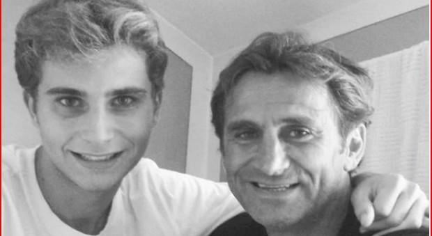 Zanardi, il figlio Niccolò: «Forza papà, ti aspetto, torna presto»