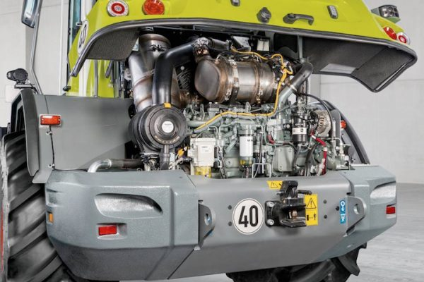 Claas: rombo di motori Stage V sulle Torion