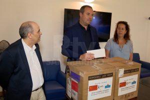 Famiglia Terenzi: donate 5000 mascherine alla Segreteria di Stato per lo Sport
