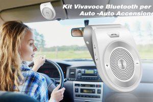 I 5 migliori Kit Vivavoce Bluetooth per Auto