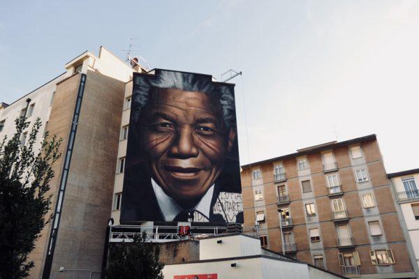Jorit a Firenze: il suo nuovo murales è dedicato a Nelson Mandela – FUL