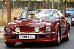 La Aston Martin di Beckham è in vendita