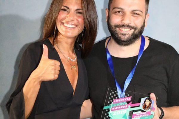 Lifestyle Show Awards: premio a Bianca Guaccero