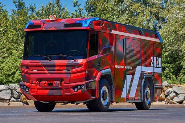 Rosembauer Volvo RT, innovativo veicolo elettrico pompieri – Eco Mobilità