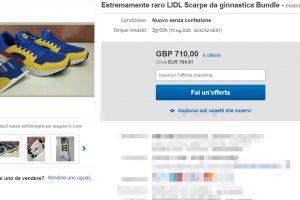 Tutti pazzi per le scarpe Lidl da 13 euro: rivendute online costano anche 780