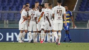 La Roma torna a sorridere contro il Parma tra brividi e Var