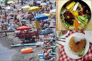 Cibo da spiaggia: come è cambiato il menu degli italiani al mare. FOTO