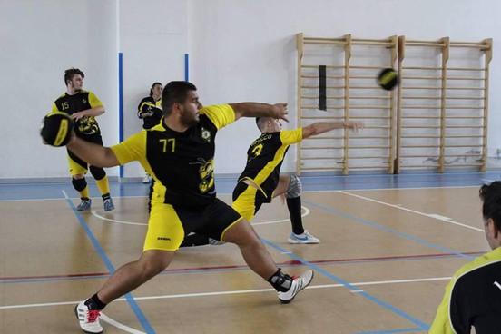 Una fase di gioco di un match disputato dal team Open Maschile dell'Empoli Swarm