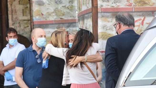 Il dolore per la morte di Carlotta Martellini (Foto Crocchioni)