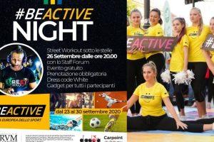 #BeActive, lo sport per sconfiggere l'incubo Covid-19