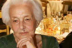 È morta Rossana Rossanda, fondò il manifesto