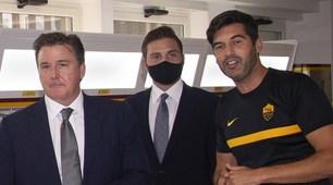 Roma, i Friedkin incontrano Fonseca e la squadra a Trigoria