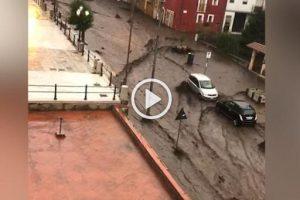Maltempo, danni in Irpinia: colata di fango travolge Monteforte Irpino