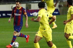 Messi, un gol per ritrovare il sorriso: il Barça parte con un poker al Villarreal