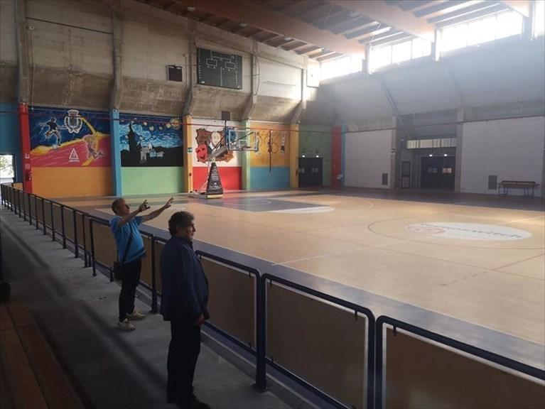 Il Palazzetto dello Sport di viale Colombo ristrutturato