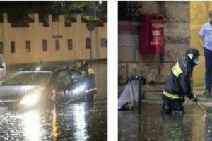 Roma, bomba d'acqua: tram in tilt, chiuse metro San Giovanni, Termini e Manzoni. Bloccata Roma-Lido