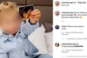 Chiara Ferragni e Fedez aspettano il secondo figlio
