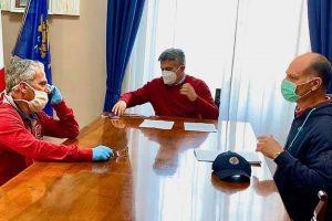 """Coronavirus, il Comune riaccende i motori di """"CassinoRisponde"""": vertice Salera-Maccaro-Matera"""