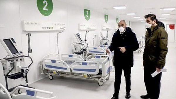 Covid Lombardia, contagi raddoppiati: 4.126 nuovi casi. Riaprono ospedali Fiera Milano e Bergamo