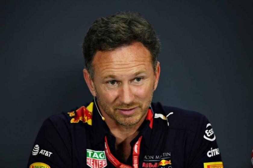 Horner Verstappen Red Bull