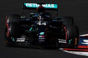 Hamilton in pole a Portimao