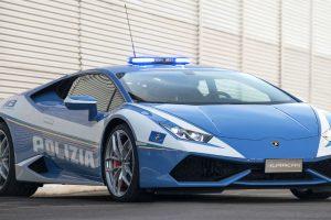 La Lamborghini Huracan della Polizia che salva le vite