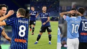 L'Atalanta fa festa con un super Gomez: Lazio battuta 4-1