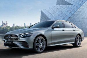 Mercedes Classe E L 2021: la variante a passo lungo si aggiorna a Pechino