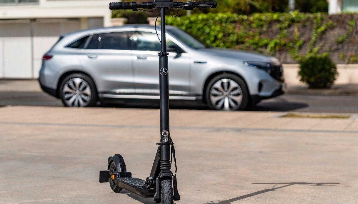 e-scooter mercedes