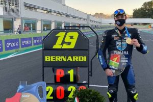 "MOTORI: Bernardi non tradisce in Supersport 600, ""Contento per il titolo"" 