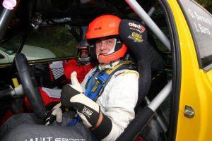 Motori: Giorgio Bernardi carico per il Rallye Sanremo