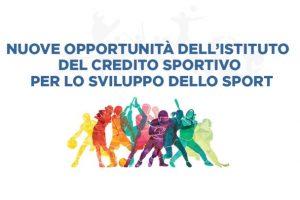Nuove Opportunità dell'Istituto del Credito Sportivo per lo sviluppo dello Sport. SdS