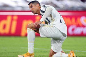 Ronaldo ancora positivo al Covid. Domani nuovo (e decisivo) tampone