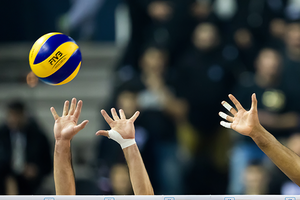 Volley, mani a rete