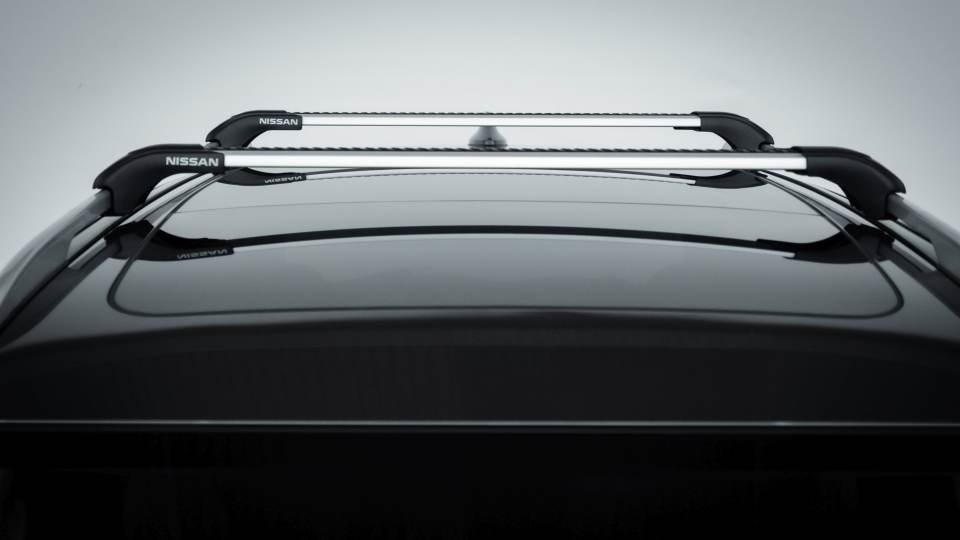 Nissan X-Trail Salomon: le barre sul tetto