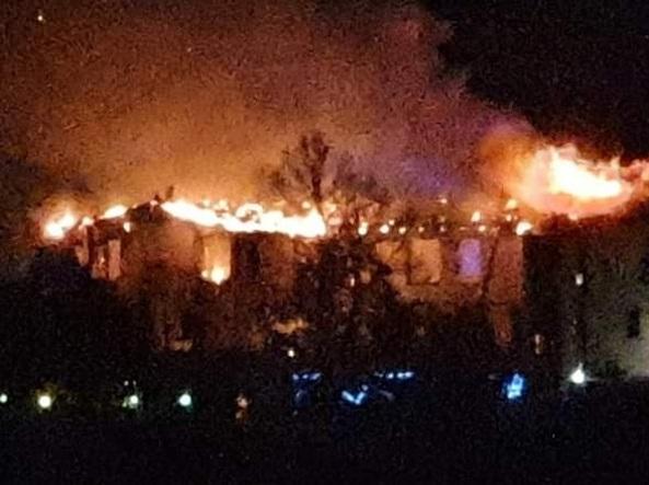 L'incendio alla villa del notaio Marco Cordero di Montezemolo
