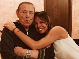Morto papà Paola Perego