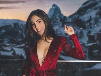 Giulia De Lellis capodanno neve
