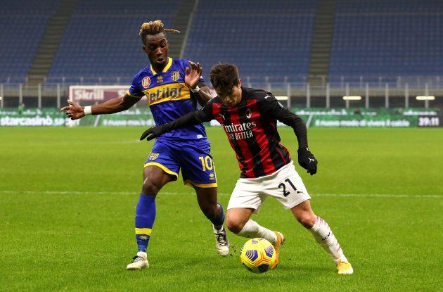 Brahim Díaz AC Milan Milan-Parma