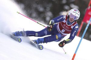 Bassino, è tris gigante: trionfa sul ghiaccio di Kranjska Gora