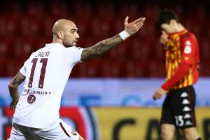 Benevento-Torino 2-2, gol e highlights. Doppietta di Zaza, pari al debutto per Nicola