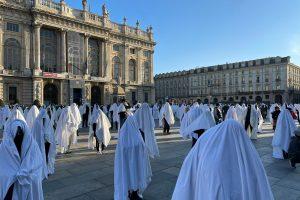 Il mondo dello sport scende in piazza a Torino