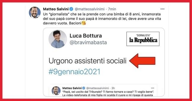 «Intimidito e zittito dalla Bestia di Matteo Salvini: una storia per niente a lieto fine»