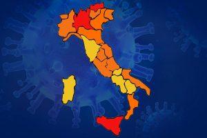 Iss-ministero Salute: alto rischio epidemia incontrollabile. Bolzano, Lombardia e Sicilia zona rossa